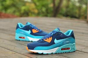 d41f39ef41ba Limited Edition Nike Air Max 90 Running Training Shoe-Space Blue ...