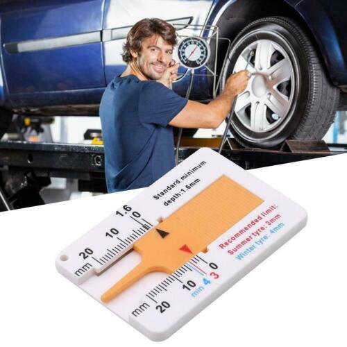 Reifenprofil Tiefenmesser Caliper Auto Motorrad Caravan Rad Trailer Measure X1Z7