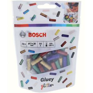 Bosch-Gluey-Glue-Sticks-Glitzer-Mix-70-Piece-Glittermix-7-x-20-mm-50-G
