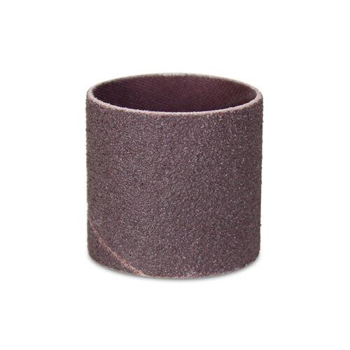 "1//2/"" x 1//2/"" Aluminum Oxide Spiral Bands 100 Pack No Lap Sanding Sleeves"