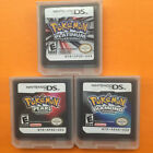 1Pc DS Game Cards Pokemon Diamond,Pearl,Platinum Gift NDSi NDS Lite New
