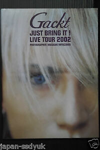 JAPAN-Gackt-photo-book-JUST-BRING-IT-LIVE-TOUR-2002