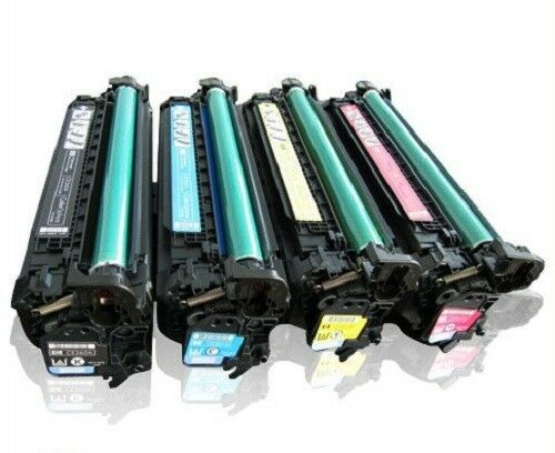 HP Re-Manufactured Set Toner Cartridges CE261A CE262A CE263A CE260A