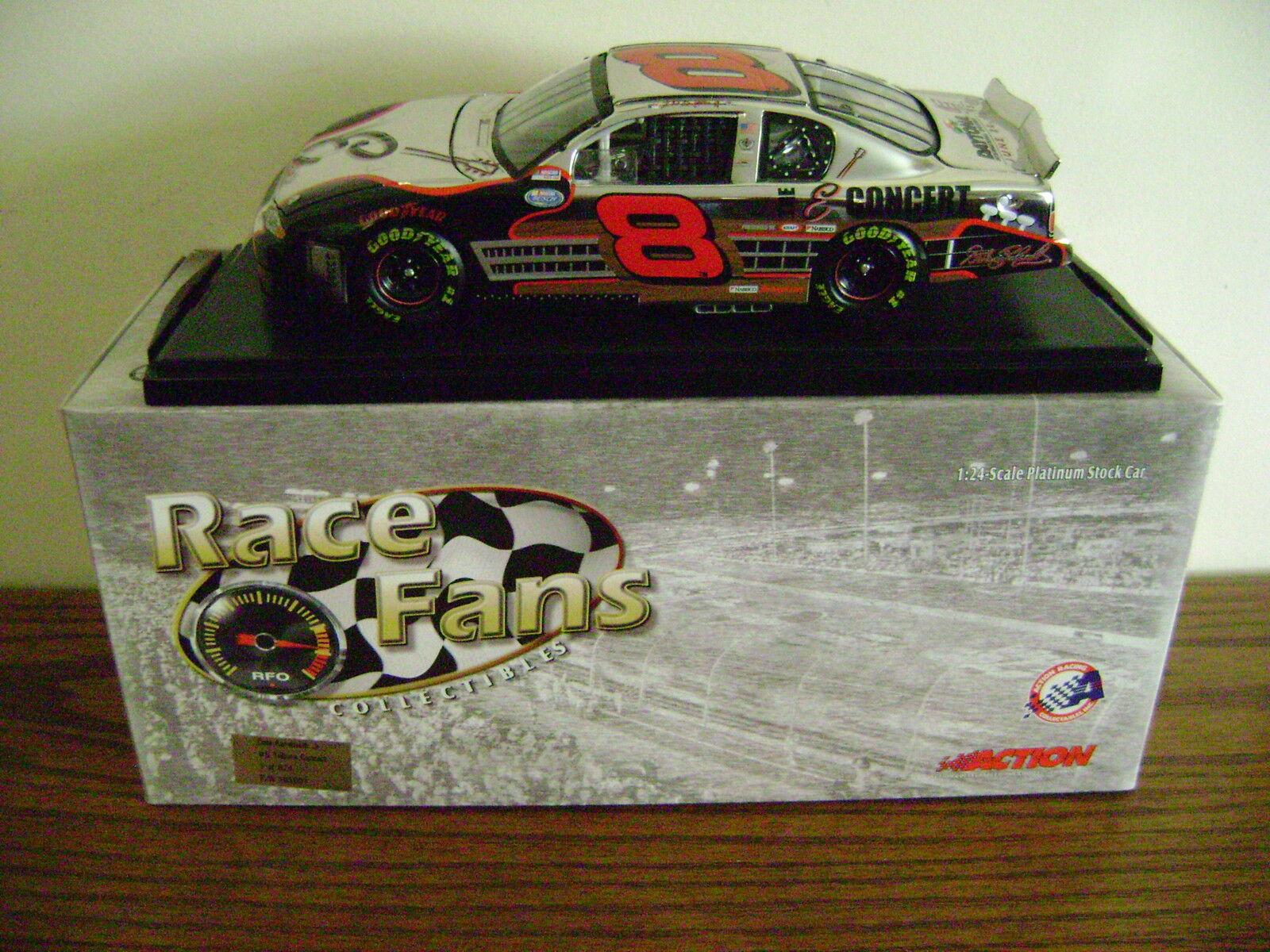 2018 Dale Earnhardt Jr 8 homenaje concierto Platino coche coche 1 de 624