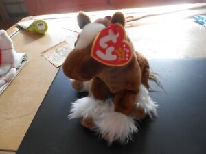 """TY BEANIE BABY """"HOOFER""""   THE CLYDESDALE HORSE - DOB:NOVEMBER 17, 2001 MWMT"""