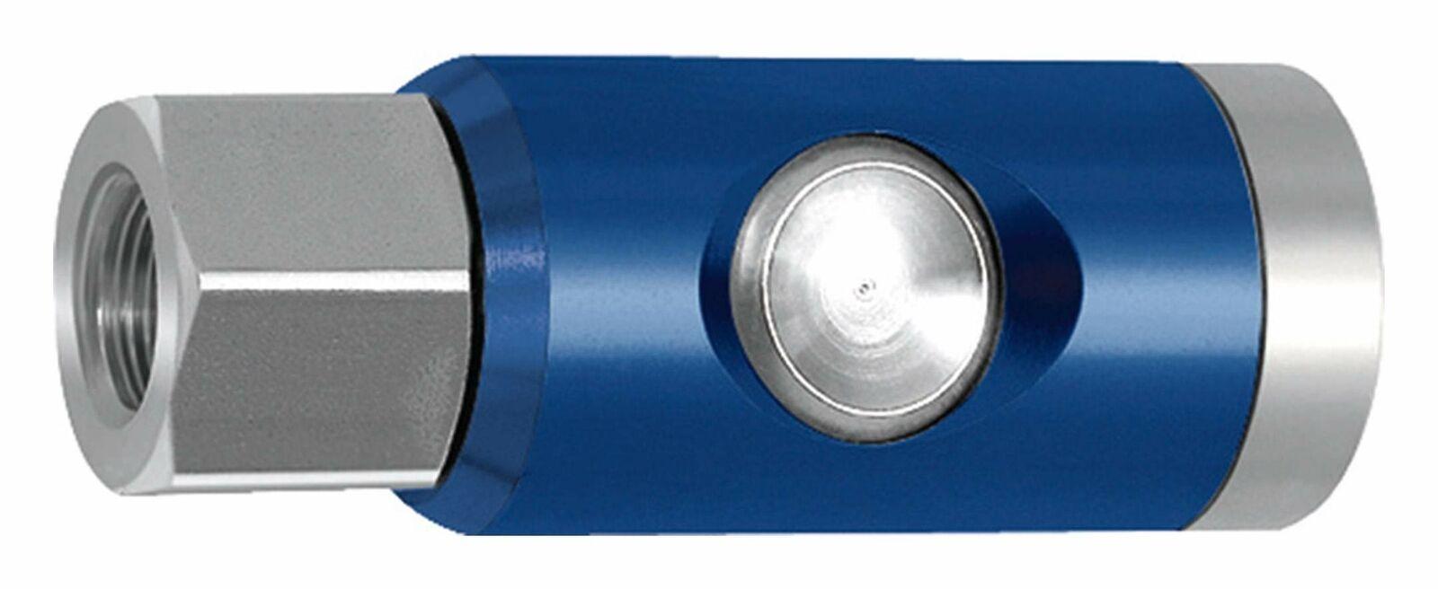 Druckluft Sicherheitskupplung Pneumatik Entlüftungskupplung mit Druckknopf