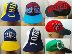 FOOTBALL CAPS FOR SALE 9 DIFFERENT TEAMS BARGAIN ONLY £ 4.95 EACH  516c5872b6f