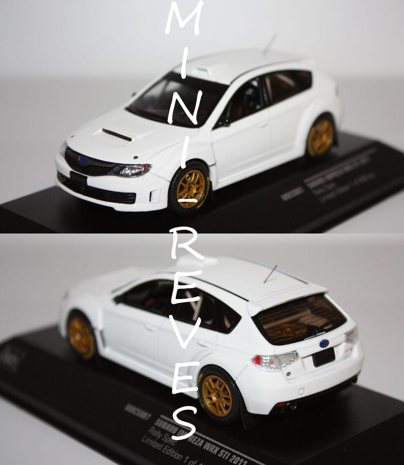 Ixo Subaru Impreza WRX STI 2011 Blanc 1 43 MDCS007