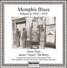 Memphis Blues Vol 4 1930-1953 0714298568622 CD