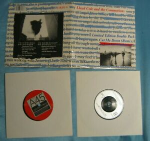 LLOYD-COLE-AND-THE-COMMOTIONS-Cut-Me-Down-Remix-2x-7-034-1986-w-2-Live-Doublepack