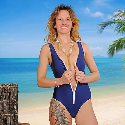 Badeanzug Art. Rox W-40687 Push Up Monokini Einteilig Schwimmanzug Bikini, WOW