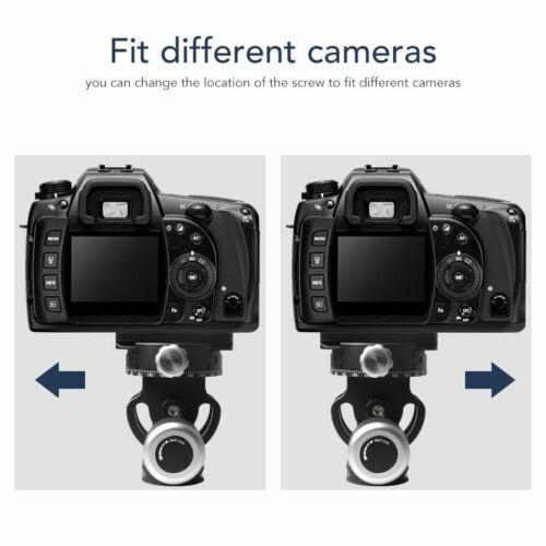 MENGS TY-70  Stativ Schnellwechselplatte Stativköpfe Montagekopf Für DSLR Kamera