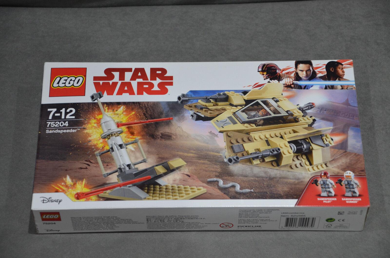 LEGO 75204 Star Wars Sandspeeder 278 Pieces Brand New Sealed Box Set 2018