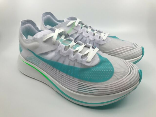bf69be318f0f Nike Zoom Fly SP Running Shoes White Rage Green Men Size 10 Aj9282 ...