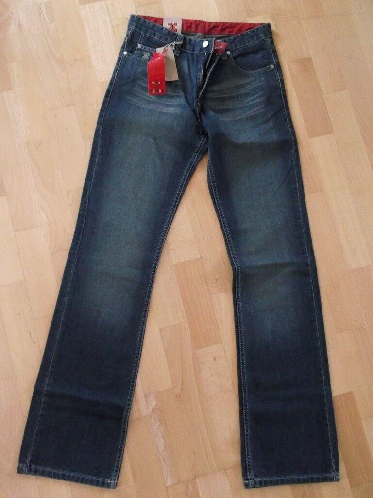 TWINLIFE  W29 L34  Stylische Jeans  Gerades Bein  Toller Style NEU   TLW02