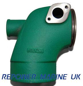 exhaust elbow for volvo penta diesel, replaces 861289 tmd31image is loading exhaust elbow for volvo penta diesel replaces 861289