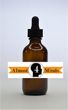 100 bulk pack 2 oz Amber Glass Bottles for Essential Oils with Glass Eye Dropper