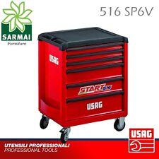 USAG 516 SP6V START porta utensili carrello VUOTO cassettiera attrezzi officina