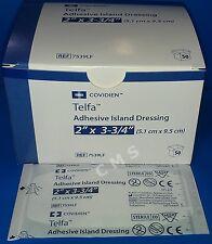 "COVIDIEN KENDALL TELFA Adhesive Mini Island Dressing Pads Sterile 2""x3.75"" 50/BX"