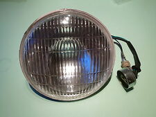 "TRIUMPH 3TA 5TA T100A T120 HEAD LAMP HEADLIGHT 7"" BPF 'NEW' LU516798 REPLICA"