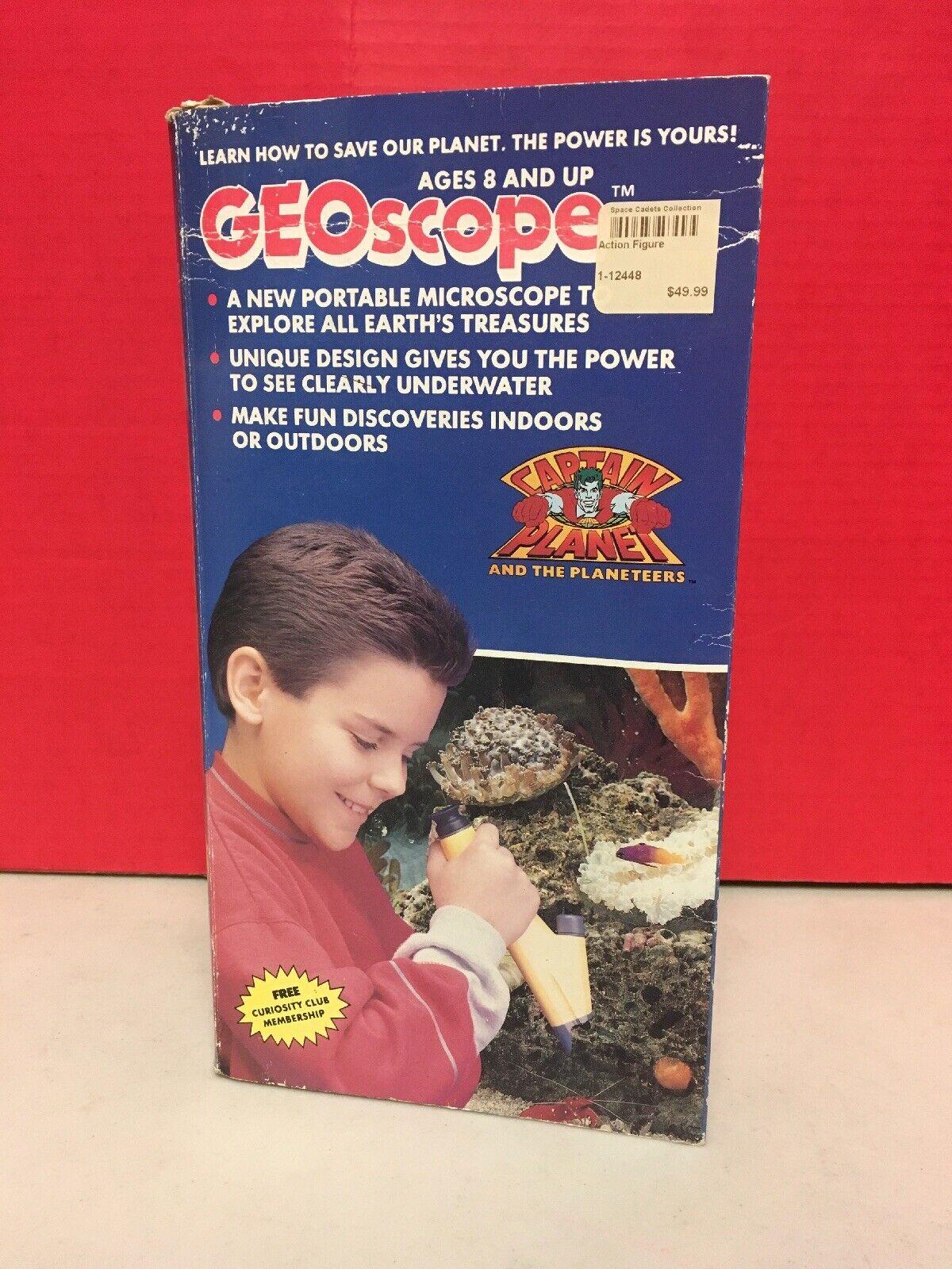 Geoscope Captain Planet Water-Resistant Portable Microscope  Super Science 1990  conveniente
