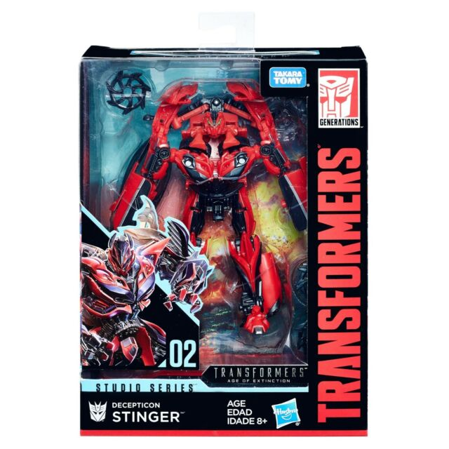 Transformers Studio Series STINGER Complete Movie Deluxe 02