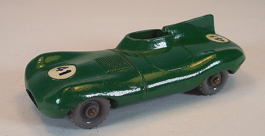 Matchbox regular Wheels nº 41 B Jaguar D-Type verde gpw nº 41 Lesney 3
