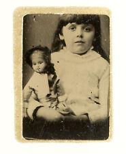 ANTIQUE GEM Tintype Photo Album w 87 Images inc. Dolls, Pres. Grant & Cleveland