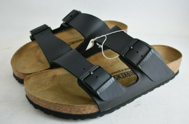 BIRKENSTOCK Size 40, Black Arizona BS Sandals