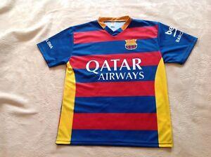 cheap for discount 9f2af 0301e Details about NEYMAR JR #Tee Shirt QATAR AIRWAYS FCB Dri Fit Soccer Jersey