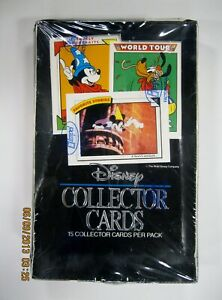 1991-Disney-Trading-Card-box-36-packs-factory-sealed-by-Impel