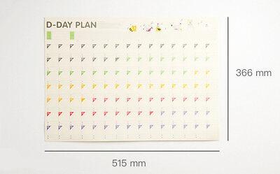 100tage kalender lernen zeitplan regelmäßig planer tabelle lernen Diät Programm