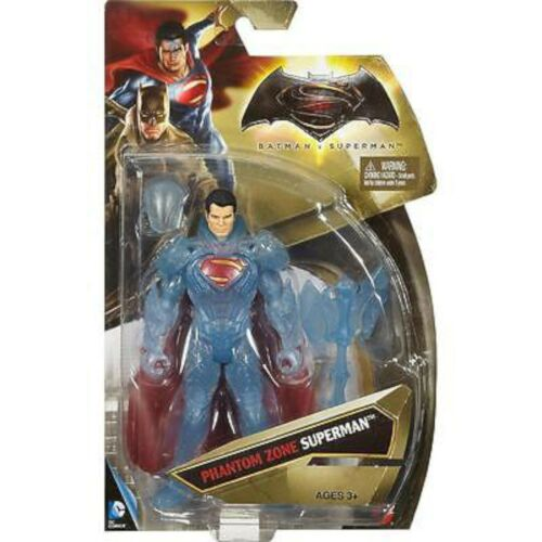 "NEW Mattel DC Comics Dawn of Justice PHANTOM ZONE SUPERMAN 6/"" Action Figure Toy"
