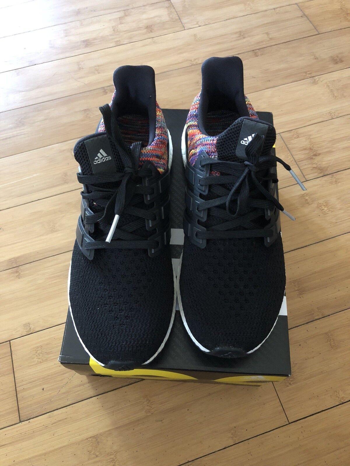 Adidas ultraboost noi 2.0 miadidas arcobaleno (multicolore) dimensioni noi ultraboost 8 uomini!usata! 104c39