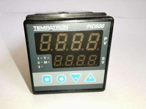 PID CONTROLLER 24VAC//DC POWERED 2X RELAY TEMPATRON PID500