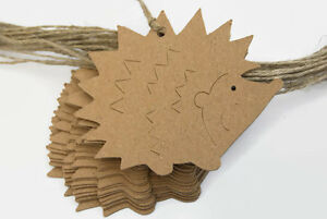 x24-Hedgehog-Woodland-Gift-Tags-Craft-Tag-Labels-Sewing-Knitting-Crafts