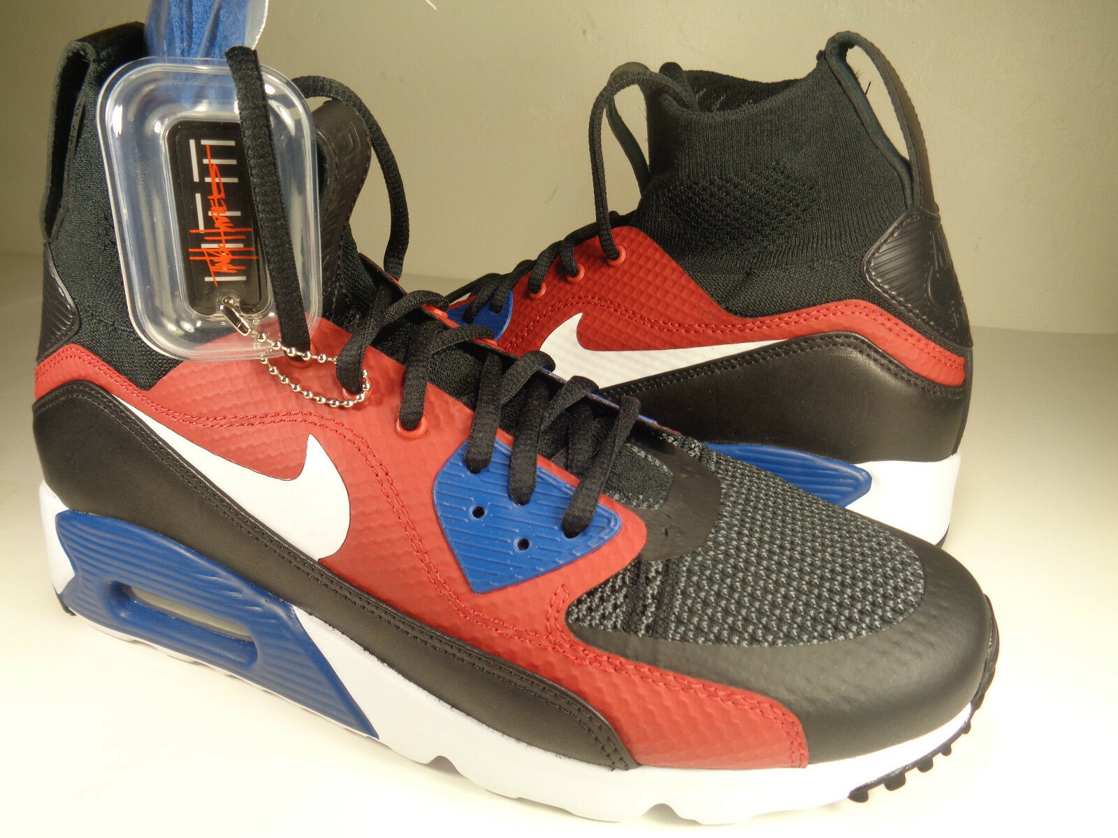 Nike Air Max 90 Ultra Superfly Tinker Hatfield HTM HTM HTM Weiß SZ 8.5 (850613-001) e86cd8