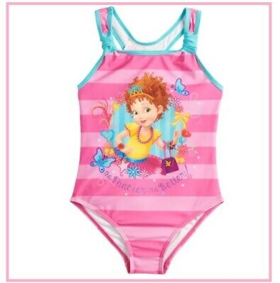 Disney Girls Finding Dory Nemo One Piece Swimsuit Swimwear Blue//Yellow Size