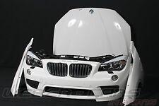 org BMW X1 E84 Front M Technik Stoßstange Motorhaube Kotflügel weiß Scheinwerfer