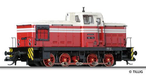 Tillig 96112 TT Locomotiva Diesel V 60.10-11 DR EP III Nuovo OVP -