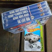Herbie The Love Bug: Collection (dvd 2004 5-disc Set) W / Herbie Hot Wheels