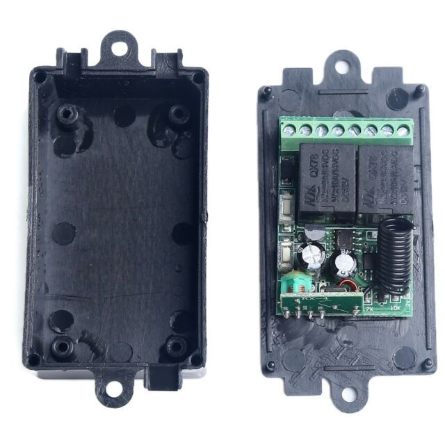 12V DC 2CH Channel Wireless RF Remote Control Switch Transmitter+ Receiver