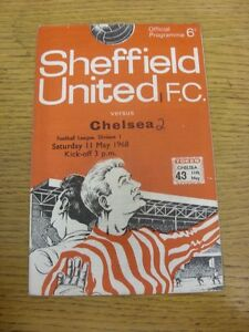 11051968 Sheffield United v Chelsea  Crease Score Noted On cover amp Team Chan - Birmingham, United Kingdom - 11051968 Sheffield United v Chelsea  Crease Score Noted On cover amp Team Chan - Birmingham, United Kingdom