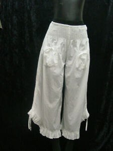 Womens-Cotton-Bloomers-Pantaloons-Cotton-sizes-Small-to-3XLarge-new-with-tags