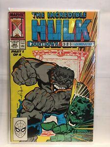 Incredible-Hulk-Vol-1-364-VF-1st-Print-Marvel-Comics