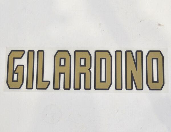 Caritatevole Set Ufficiale Nome A.c.milan Gilardino - Stagione 04/07 Home Avere Sia La Qualità Della Tenacia Che La Durezza