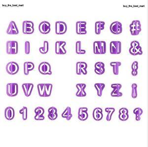 40Stueck-Alphabet-Buchstaben-Zahlen-Ausstecher-Fondant-Marzipan-Tortendeko-Mould