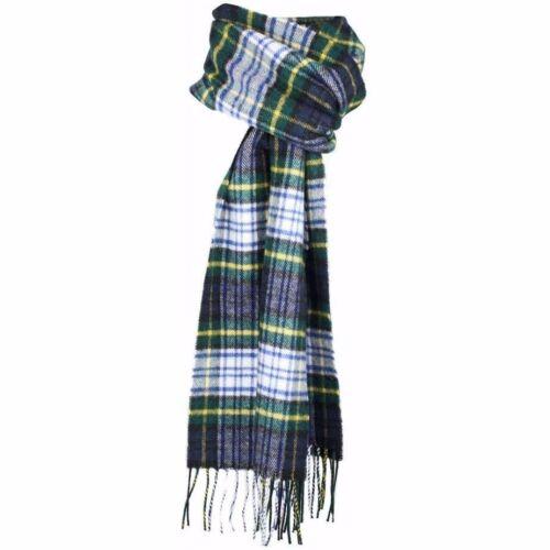Scottish 100 /% Authentic Wool Tartan Gordon Dress Modern Clan Scarf New !