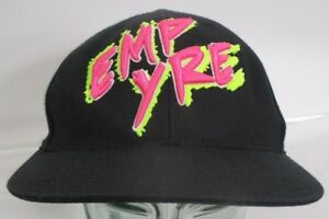 f9c21ef8a51fd Rare Empyre Black   Hot Pink Fitted Cap Hat 210 Fitted Sz 6 7 8 - 7 ...