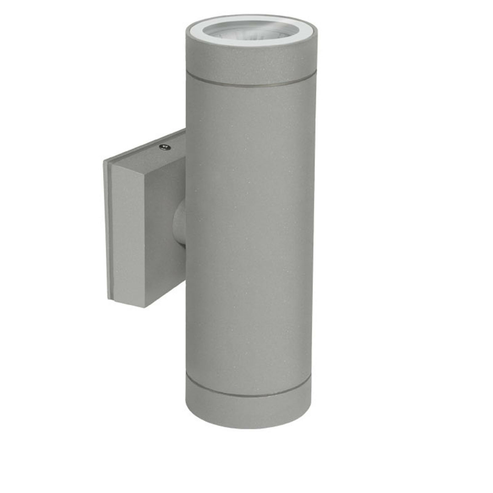1-10er Sets Wandleuchte IP54 Grau mit LED 1-3W 230V Wand Lampe Leuchte BAL54